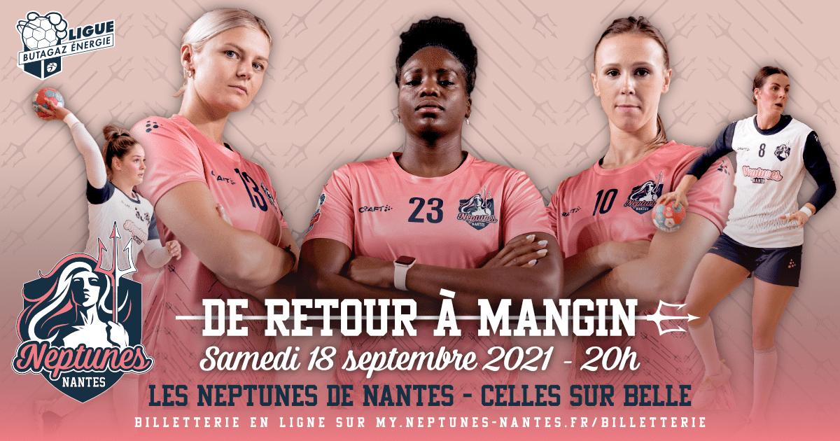 Les Neptunes de Nantes de retour à Mangin