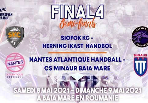 La team Roses affrontera Baia Mare en demi-finale de l'EHF European League